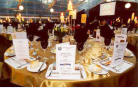 Table setting - Lindsay Bros Transport - 50th Anniversary Celebrations